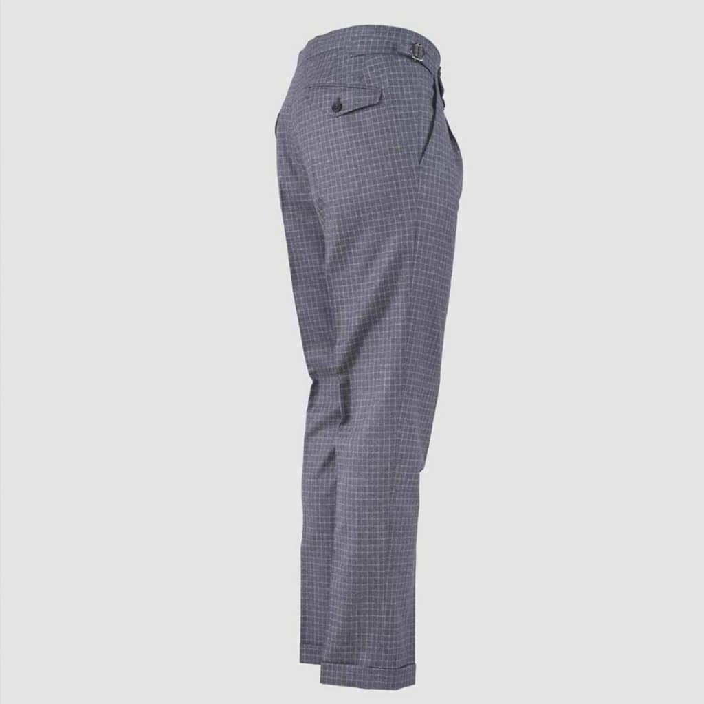 "Grey Wool "" Vitale Barberis Canonico"" Trousers"