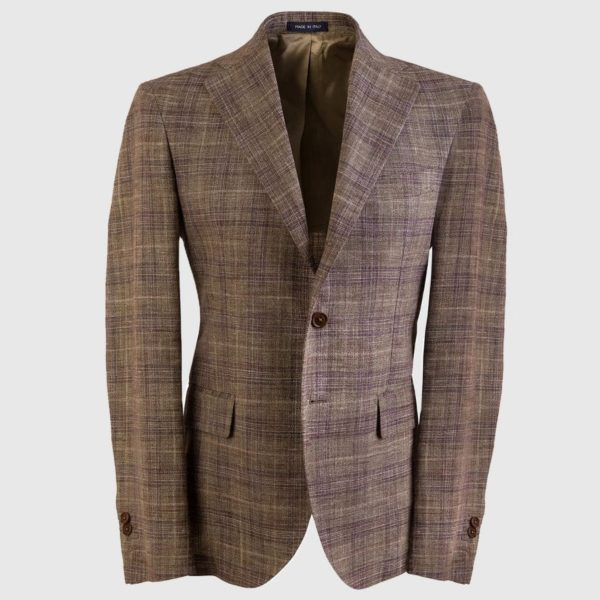 Virgin Wool Super 160s Single-breasted Blazer