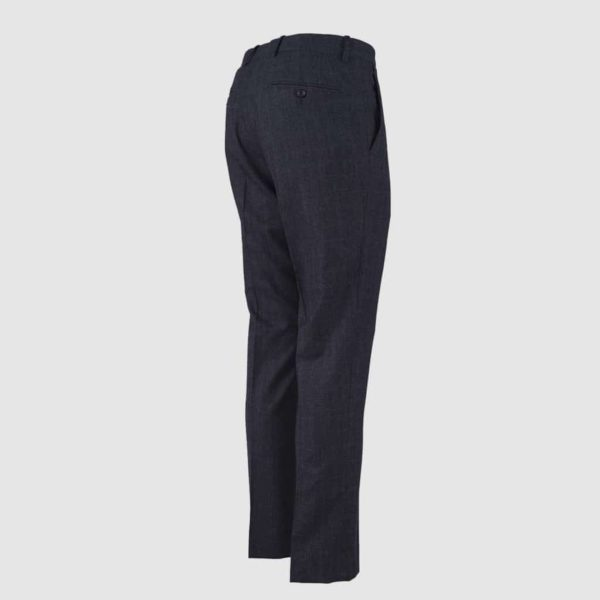 Dark Grey 130s Wool Trousers Claudio Marini