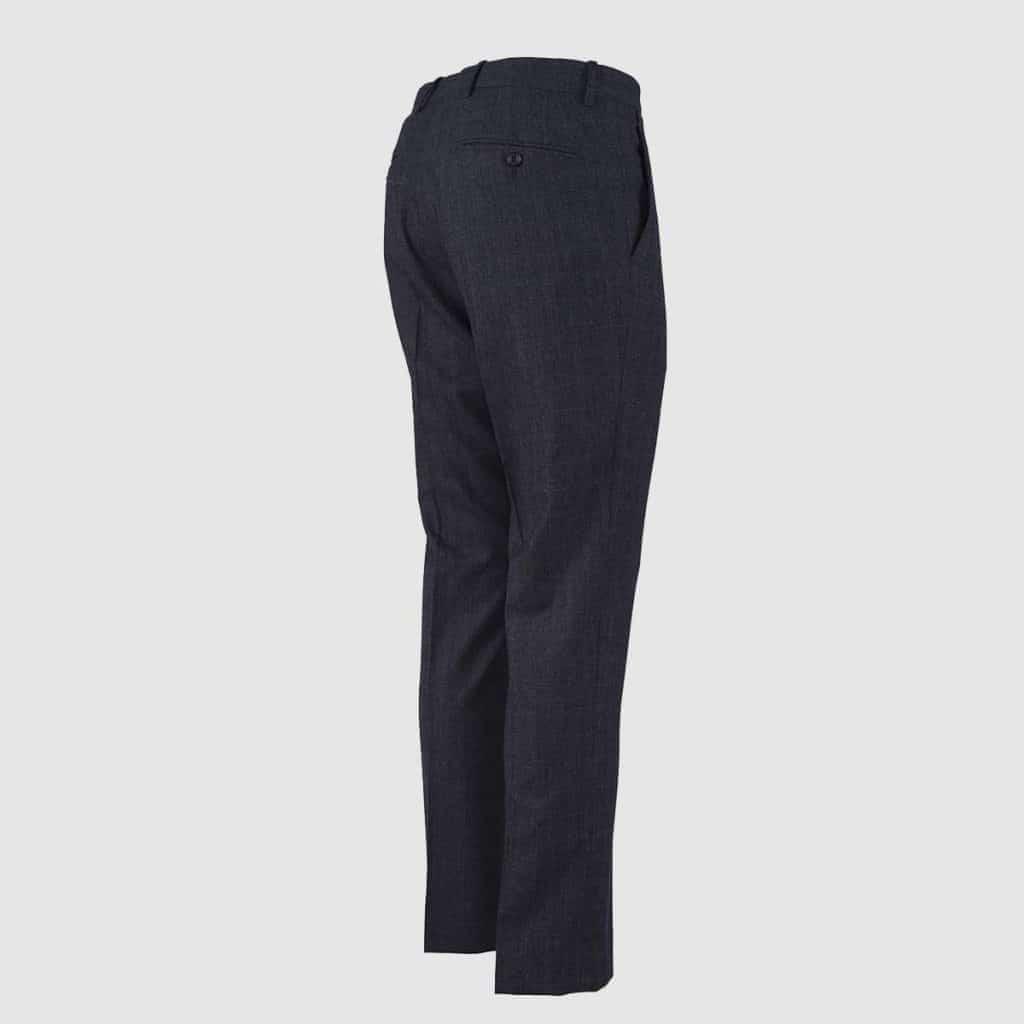 Pantalone 100% Lana Grigio Scuro