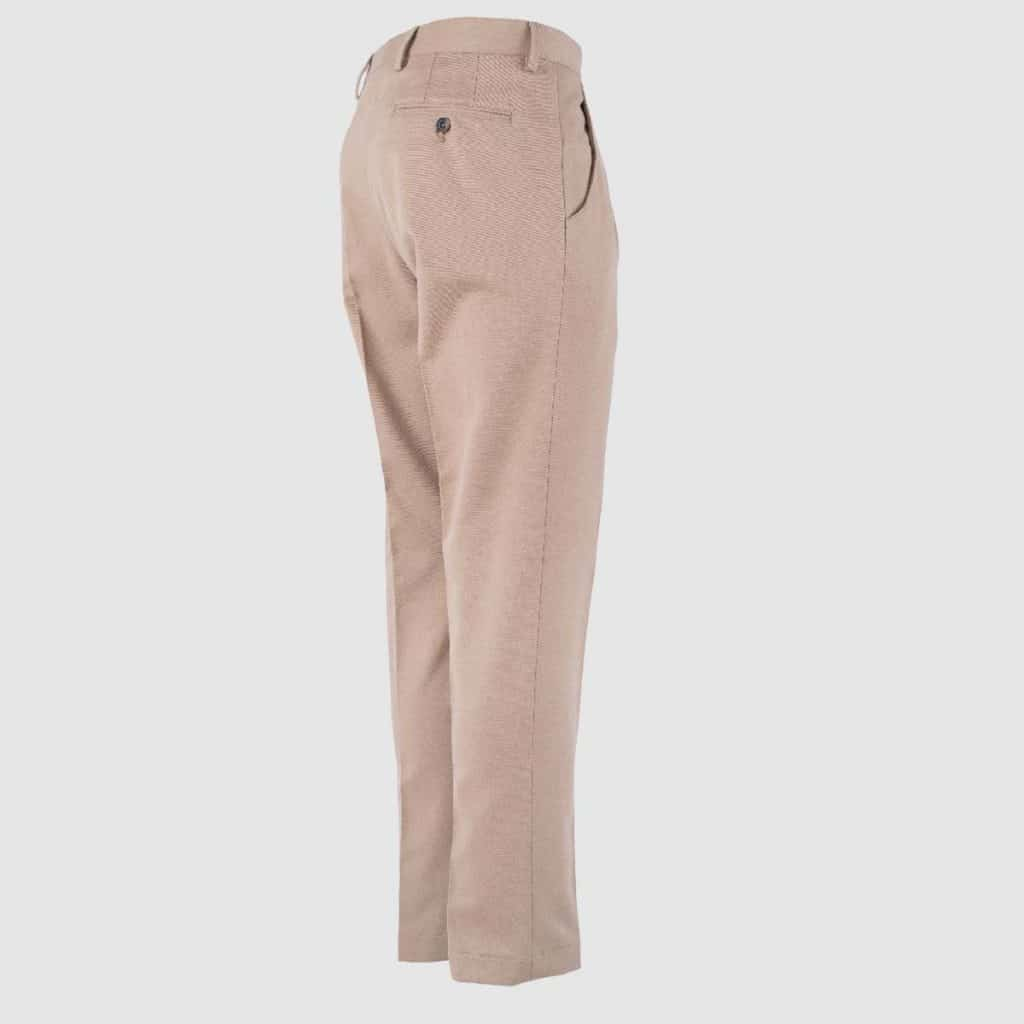 Cotton beige regular Fit Trousers