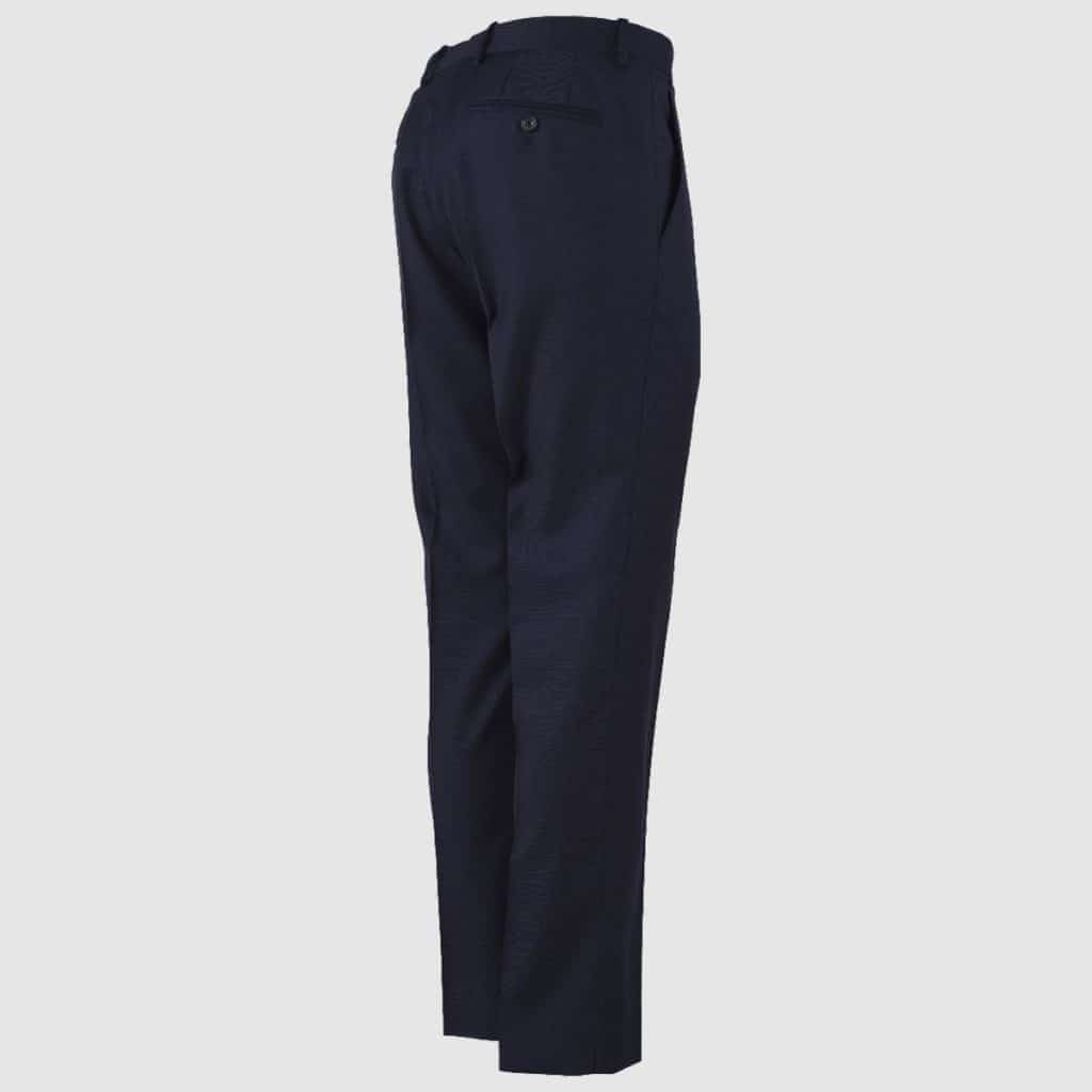 Pantalone 100% Lana 130's Blu Navy