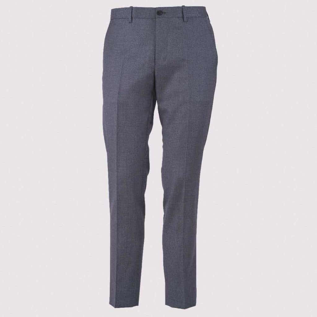 Pantalone 100% Lana 130's Grigio medio