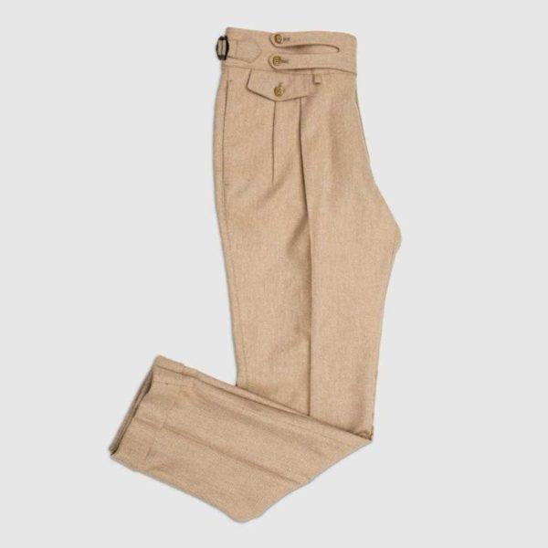 Pantalone Safari 2 piences in Flanella