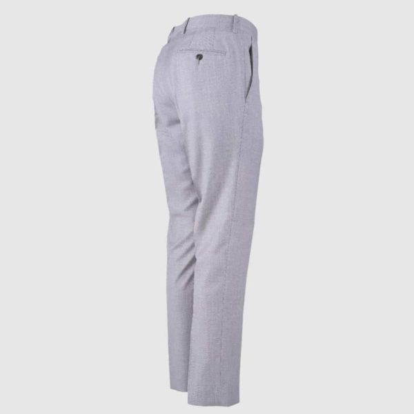 Light Grey 4-Season 130'S Wool Trousers