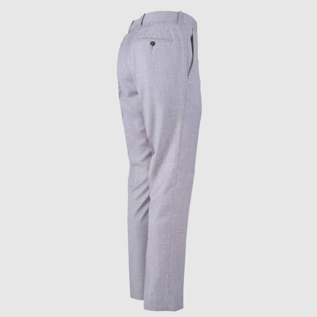 Light Grey 4-Season 130'S Wool Trousers