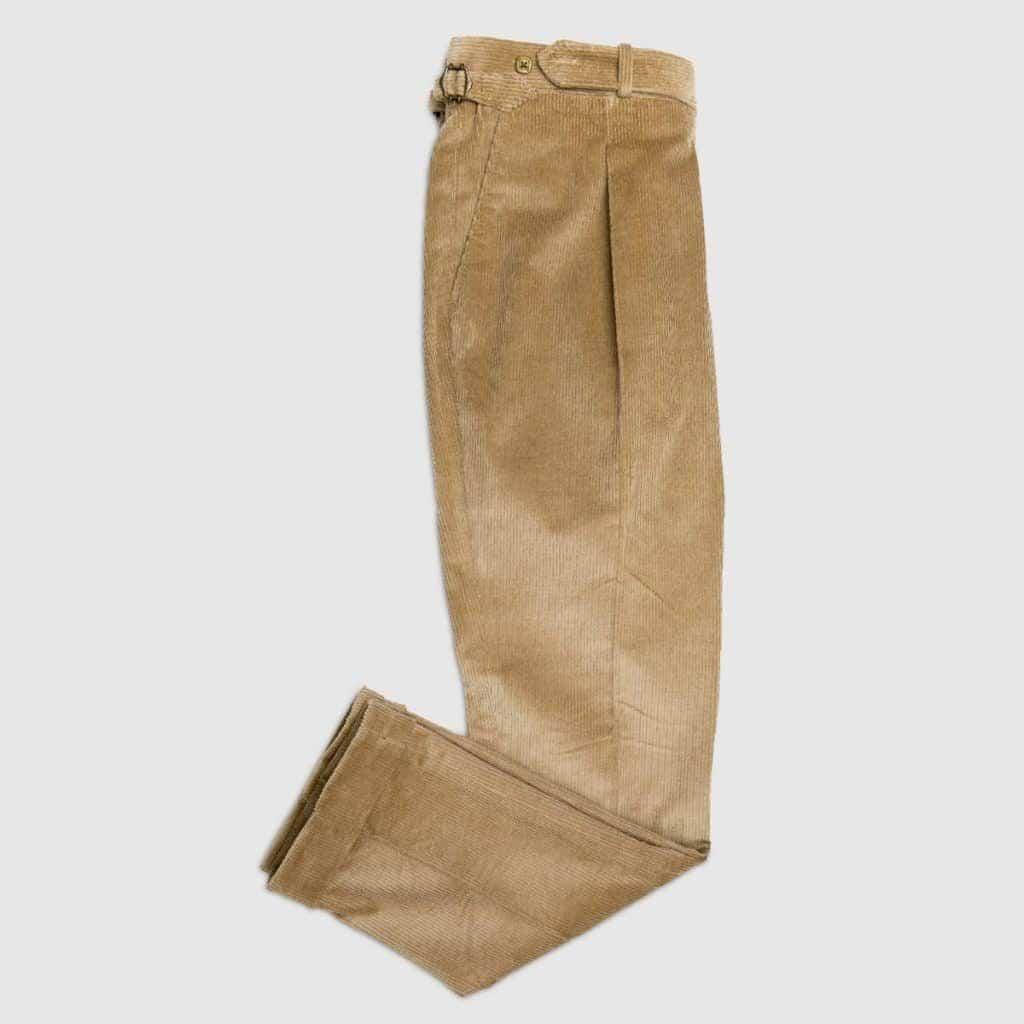 Fallow Corduroy One pleat Trousers