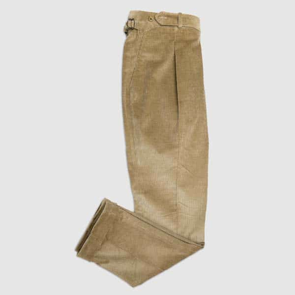 Fallow Corduroy One pleat Trousers