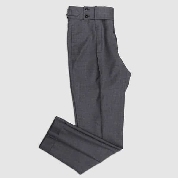 Grey tasmanian Wool Trousers