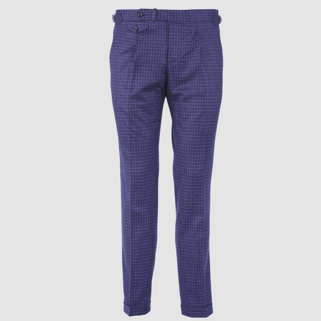 "Blue Wool "" Vitale Barberis Canonico"" Trousers"