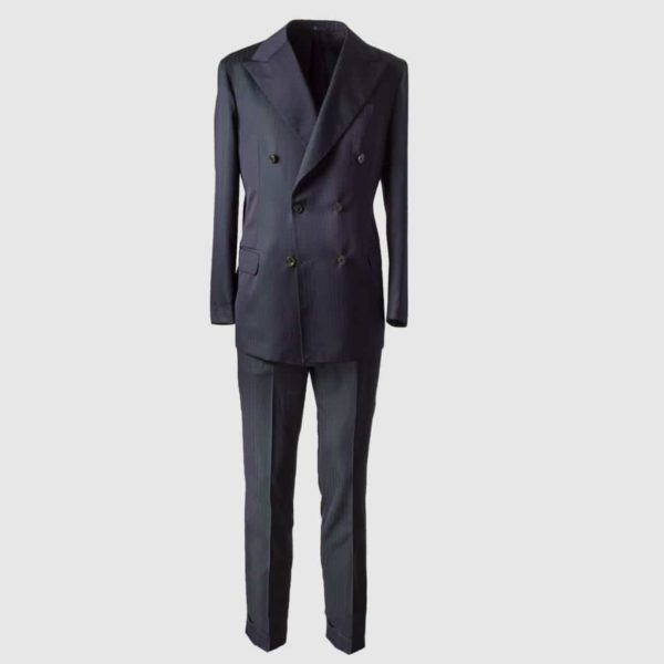 "Melillo 1970 ""Solaro"" Wool Suit"