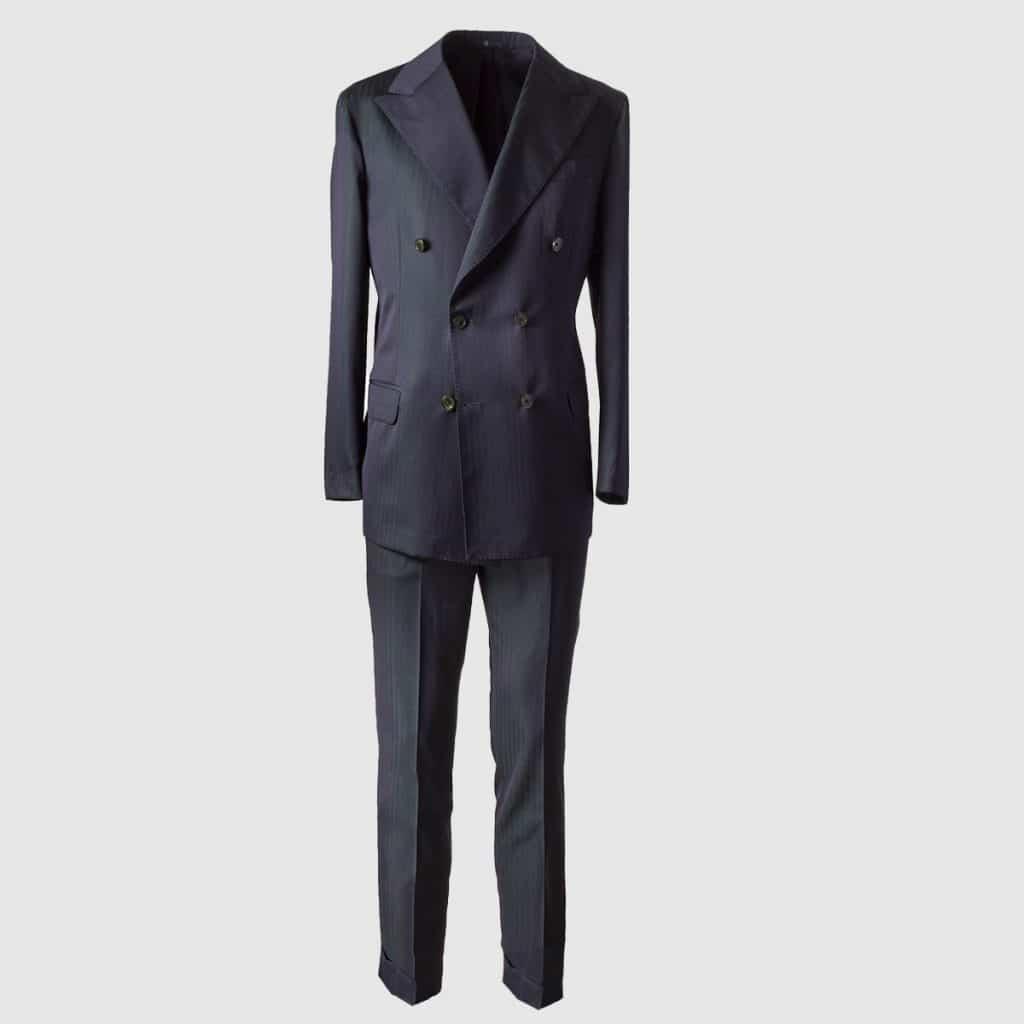 """Melillo 1970 """"Solaro"""" Wool Suit"""