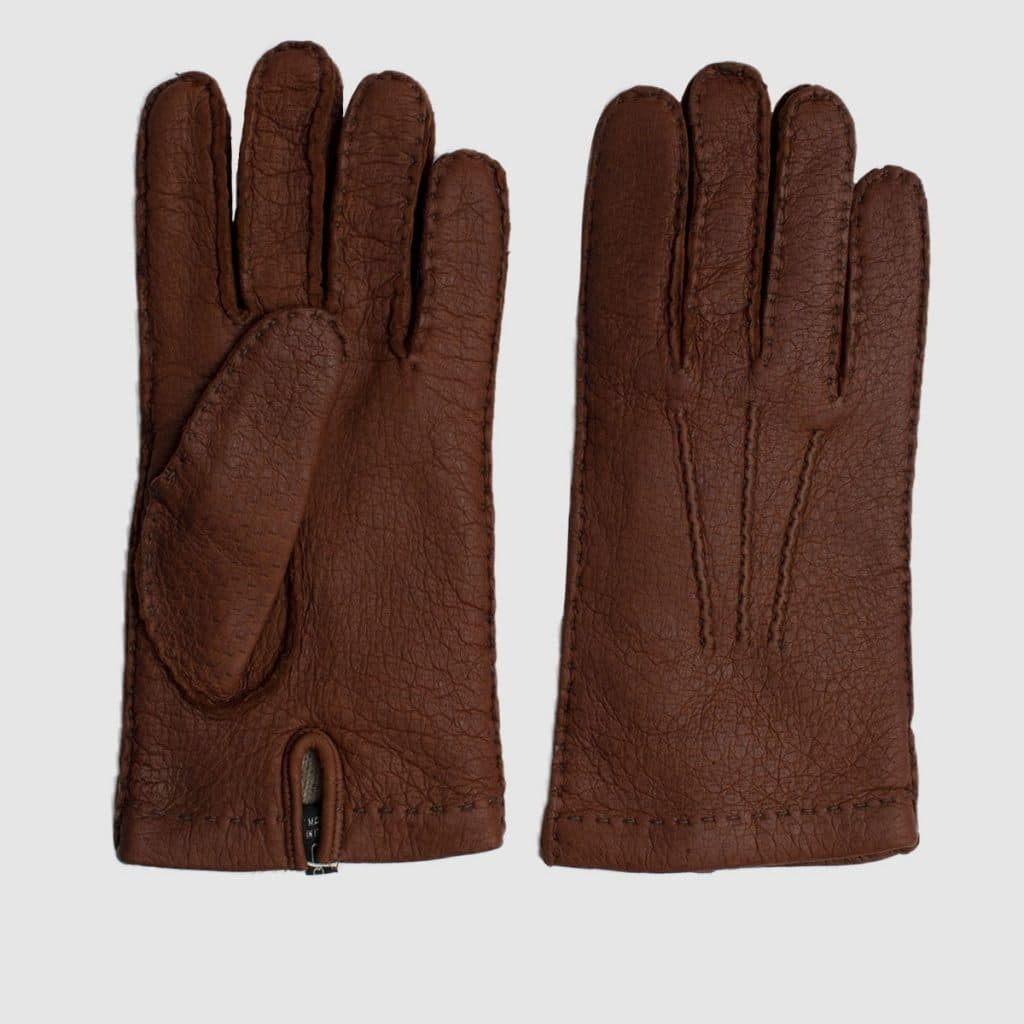 Lined-Cashmere Pecary Glove