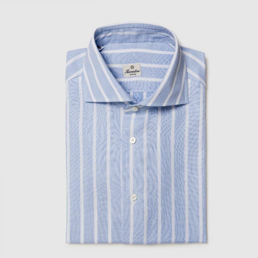 Twelve StepsStriped Oxford shirt