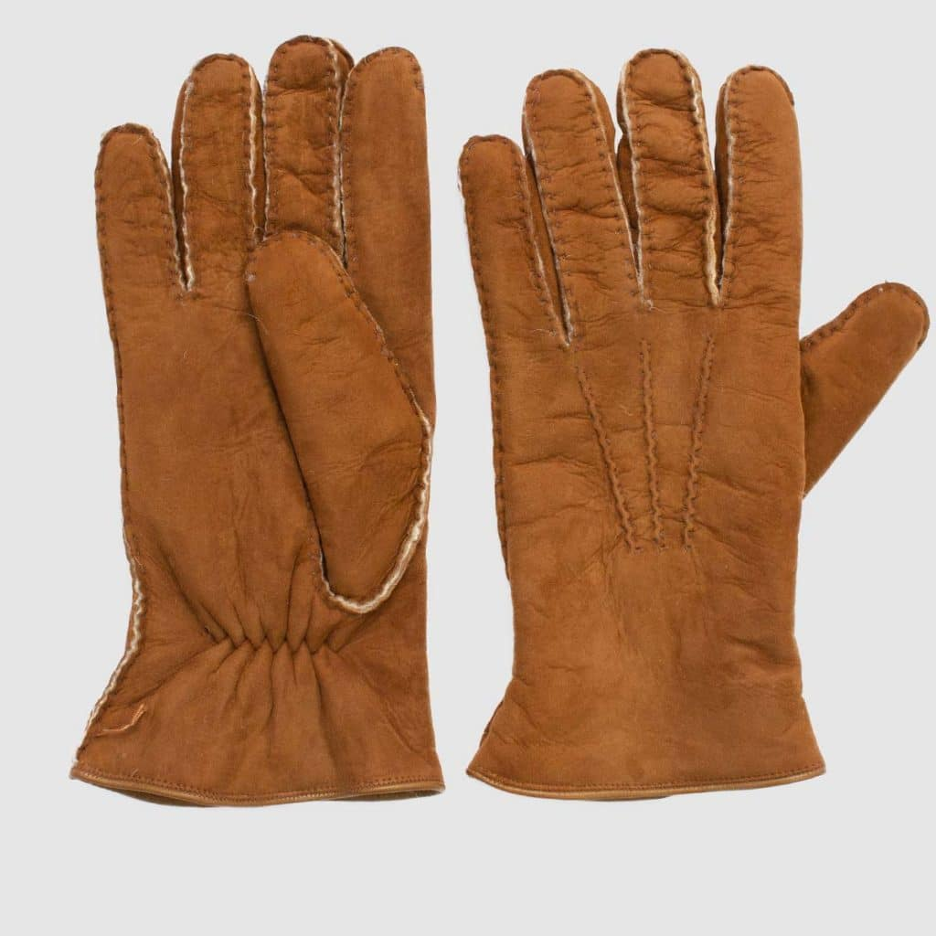 Light brown Shearling Gloves