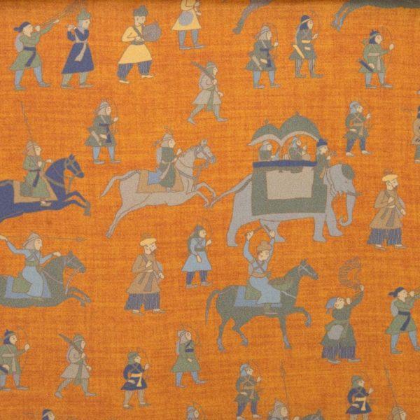 Sciarpa in Seta Habotai seta Gam Finished