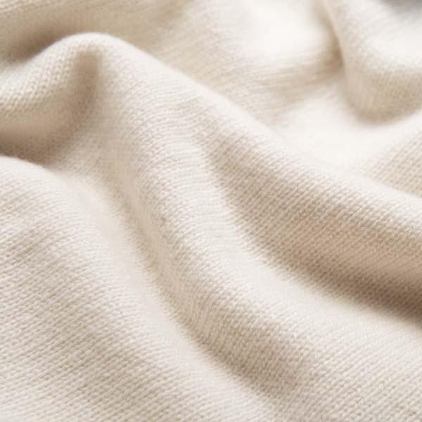 Maglione bianco con pattern zig-zag