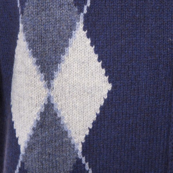 Maglione full zip Royal in mohair e cammello