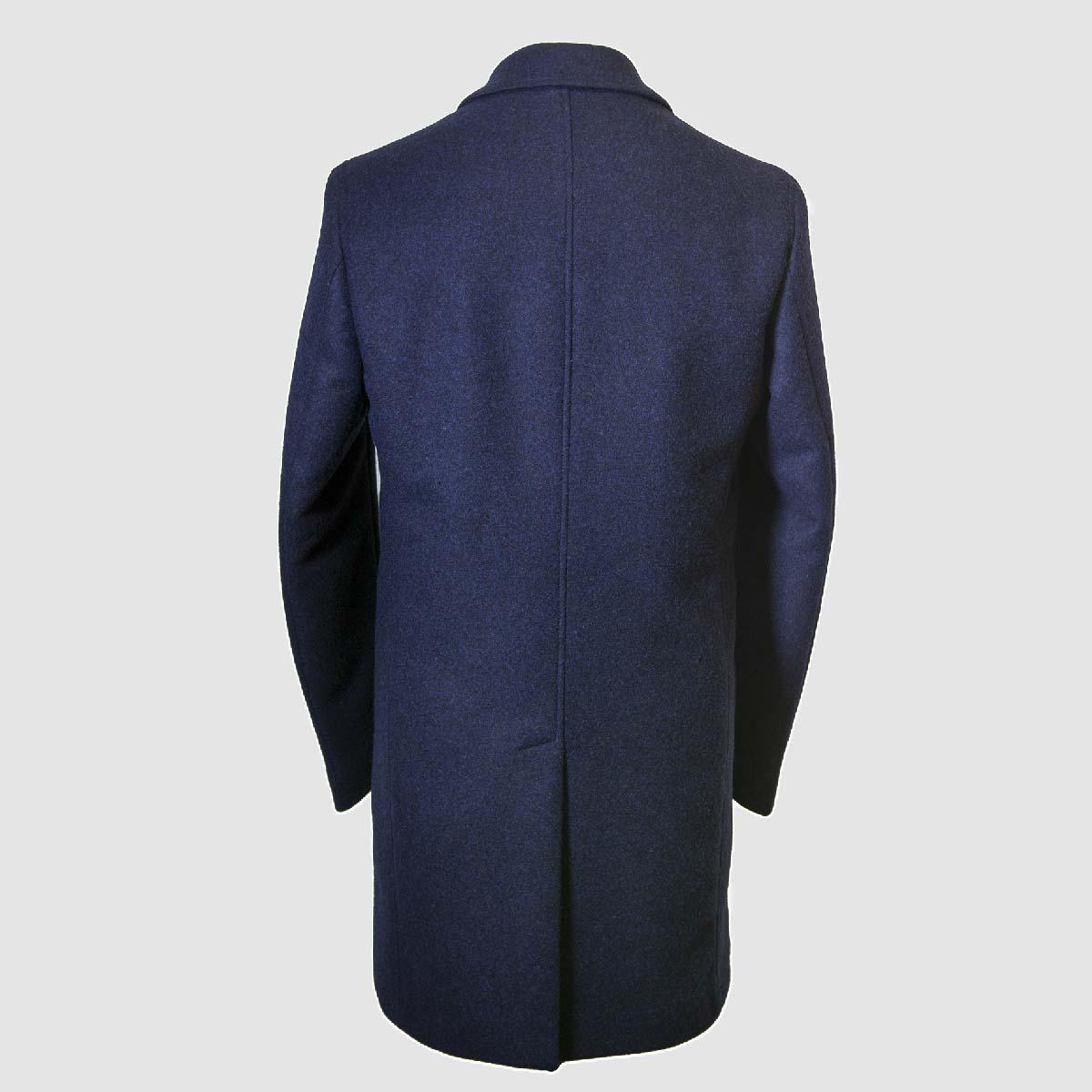 Overcoat Blue in 100% Lana