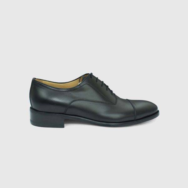 Scarpa Oxford Cap-toe nera
