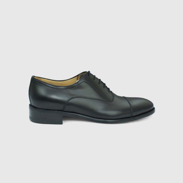 Scarpa Oxford Cap-toe nera