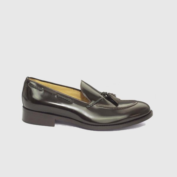 Dark Brown Tassel Loafers