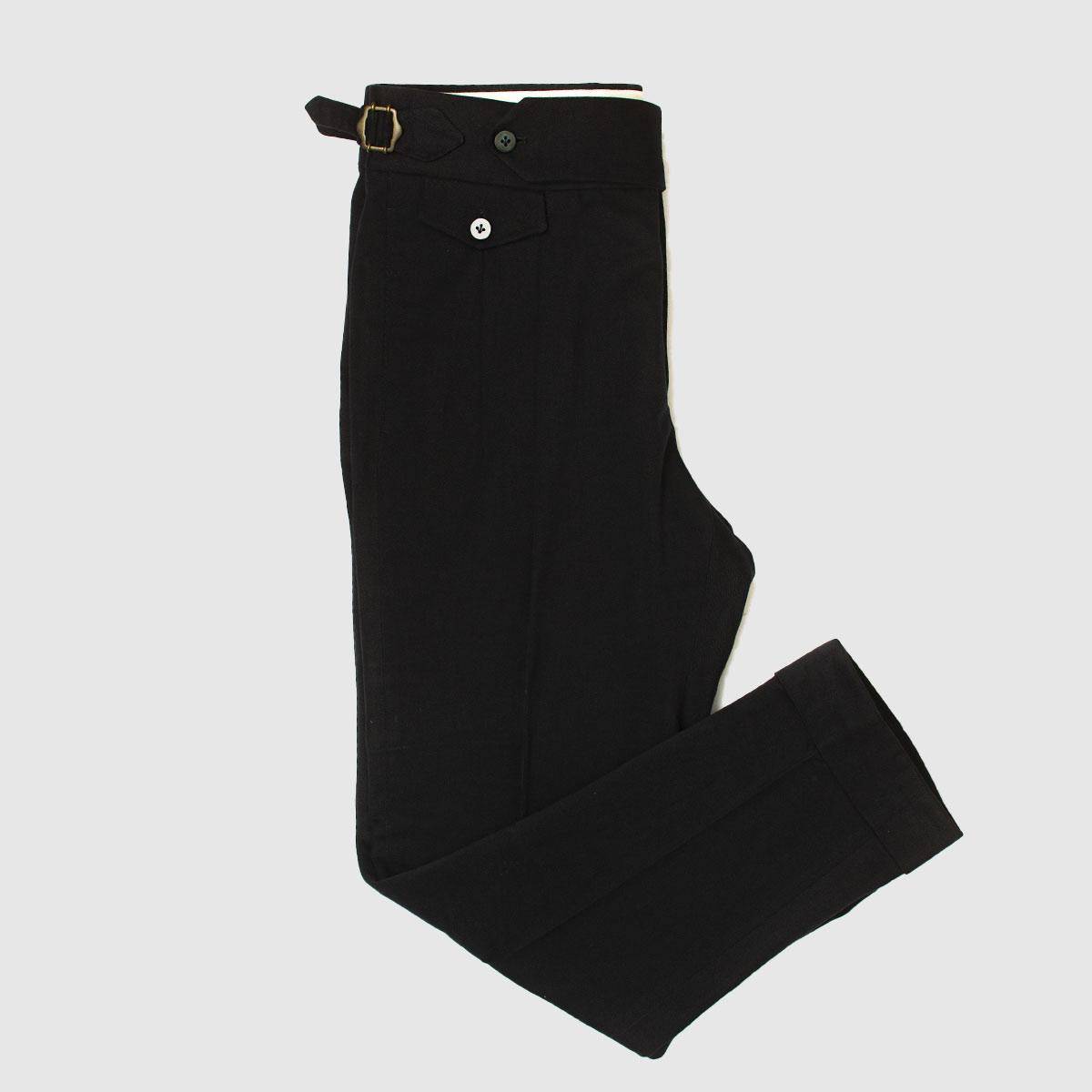 Pantalone Single Pience in 100% Cotone Blu
