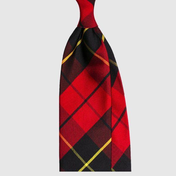 Cravatta Red Tartan