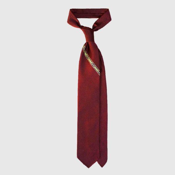 Cravatta in Seta Single Chain – Red