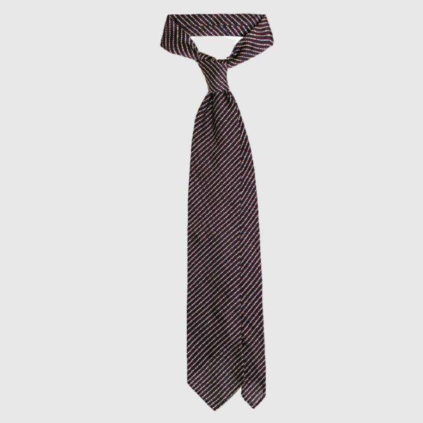 Cravatta Garza Grossa – Navy / Rosso / Bianco