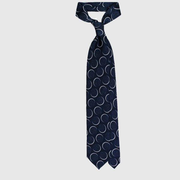 Cravatta Astro Navy
