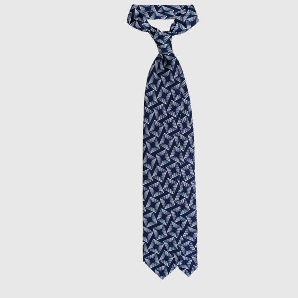 Cravatta Con Quadrati Ottici