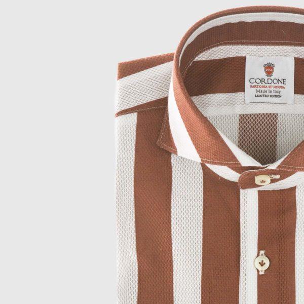 Camicia elegante a righe Giro Inglese a Bordeaux