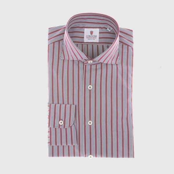 Dress Shirt in Claret