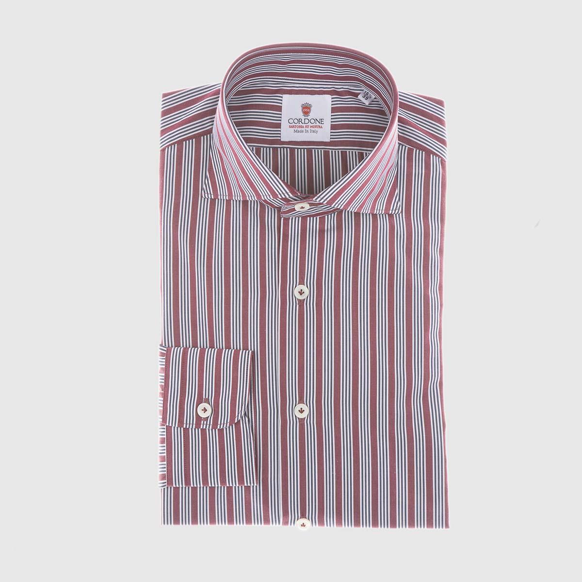 Camicia elegante in Claret