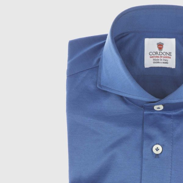 Coastal Long Sleeved Polo in Imperial Blue
