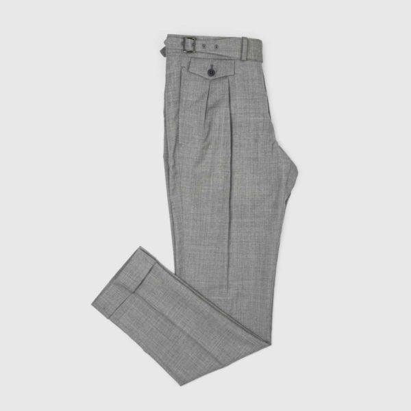 Pantaloni 2 Piences in Lana grigia