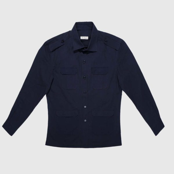 Over shirt in Cotone