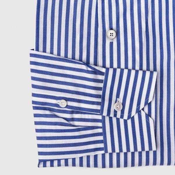 Camicia rigata in Cotone