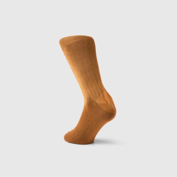 Bresciani 1970 Cotton Socks in Mustard