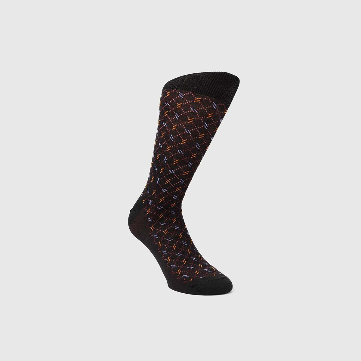 Bresciani 1970 Cotton Socks in Sienna