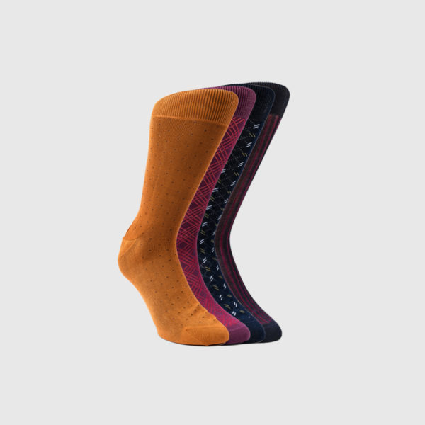 Four Bresciani 1970 Cotton Socks