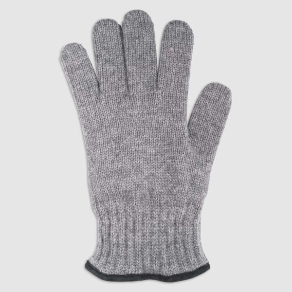 Wool Glove with Suede Palm