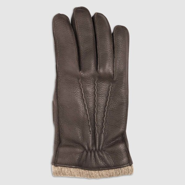 Leather Glove with Cashmere Lining
