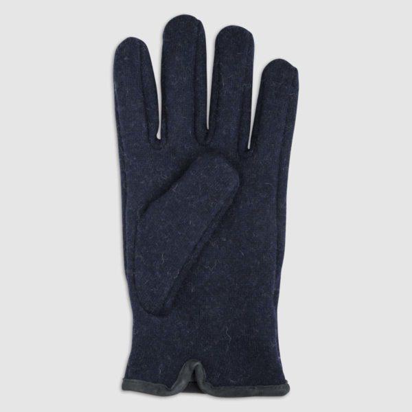 Double Wool Glove in Blue