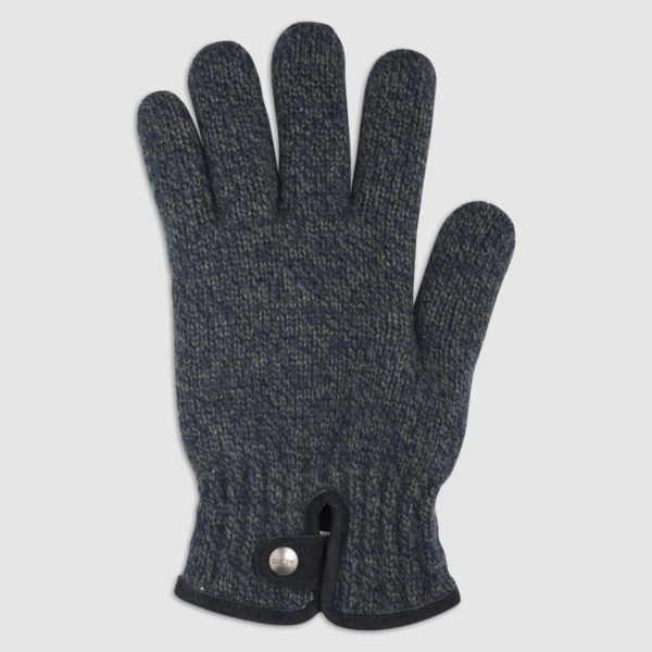 Mouliné Wool Glove with Fleece Lining