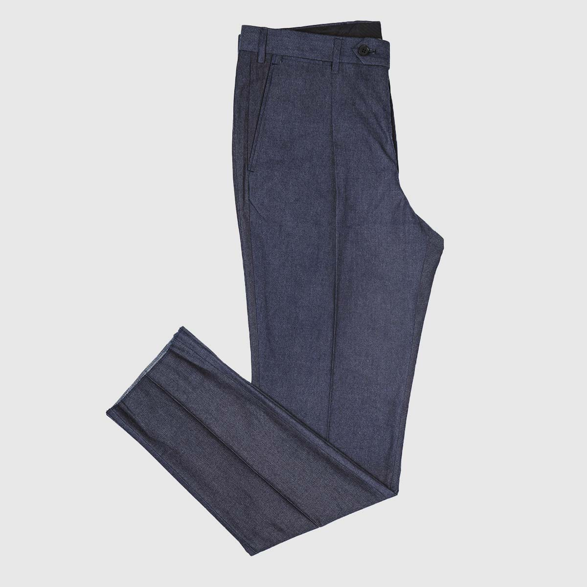 Sartoria Lavore Giuseppe Albiate Denim Trousers in Indigo