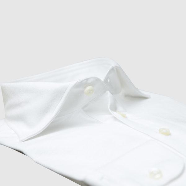 Cordone White Cotton Shirt