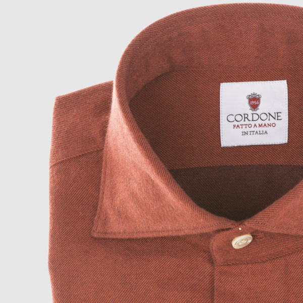 Cordone Red Flannel Shirt
