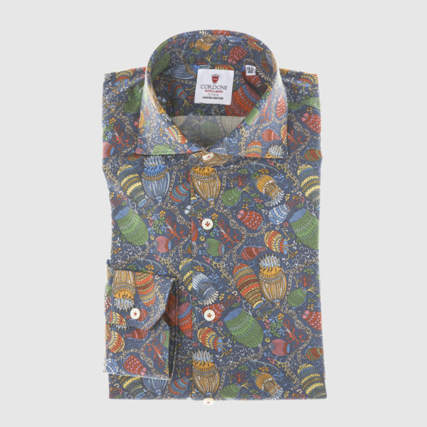 Cordone Hot-air-balloons Cotton Shirt